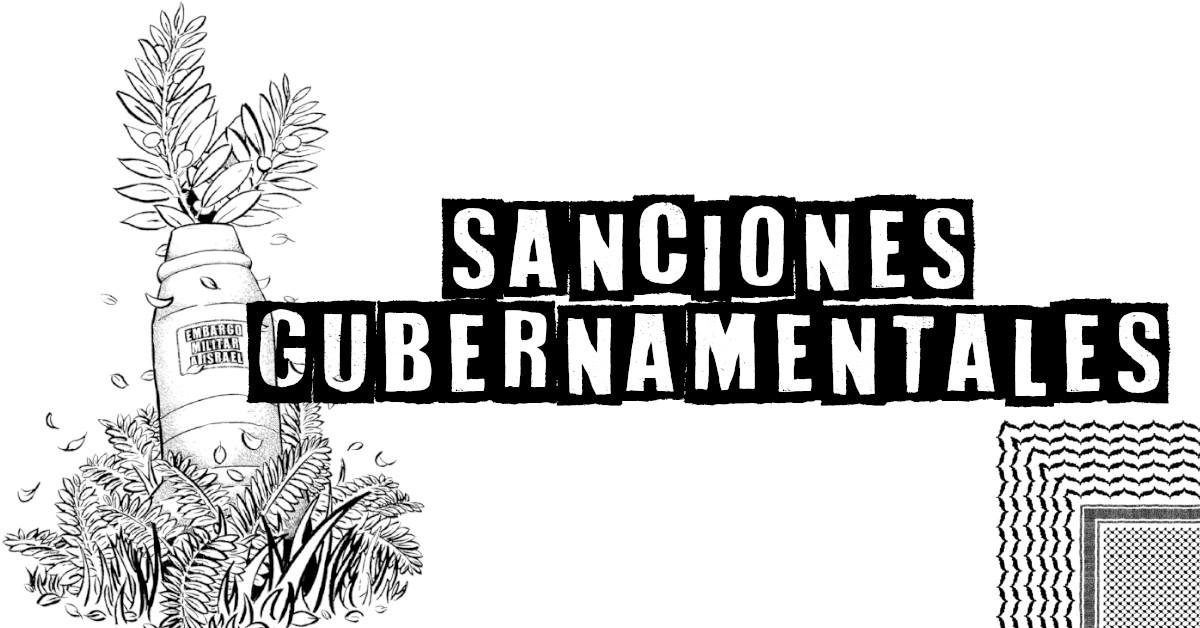 Sanciones gubernamentales